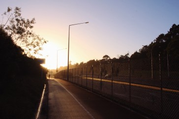 Sunrise, Greenhithe Bridge, Auckland, NZ. Image: Su Leslie, 2017